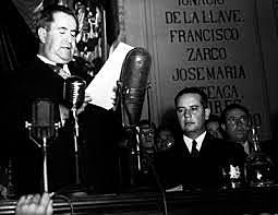 Primer informe de gobierno de Manuel Ávila Camacho.