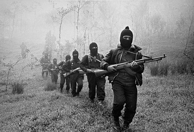 Varias poblaciones del estado de Chiapas fueron atacadas y ocupadas por los rebeldes zapatistas.