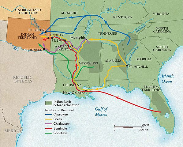 Indian Removal Act is passed