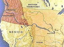 The Oregon Trail is established