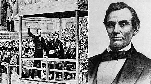 Abraham Lincoln becomes the President
