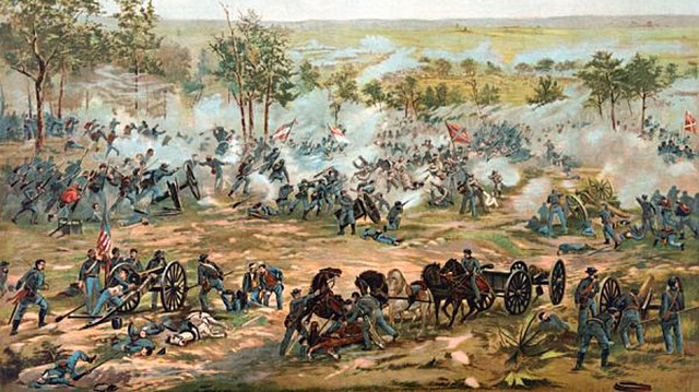 Battle of Gettysburg takes place
