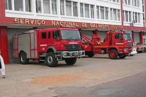É criado o Serviço Nacional de Bombeiros