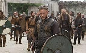Primer ataque de los vikingos al Monasterio de Lindisfarne, en Inglaterra