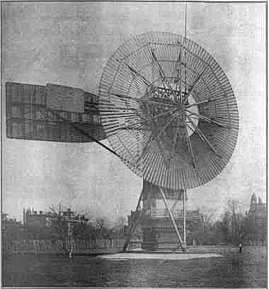 la première éolienne