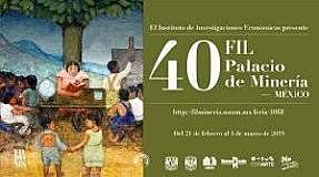 Feria del Libro Universitario en el Palacio de Minería