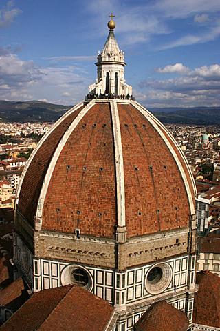 Fin de la construccion de la cupula del domo de Florencia