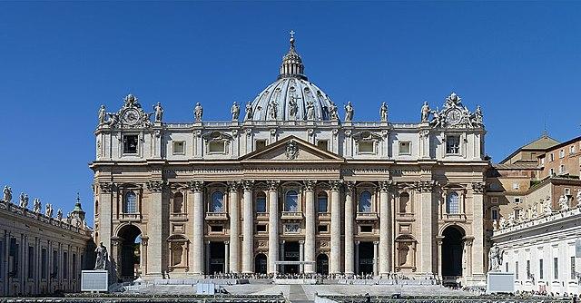 Fin de la construccion de la Basilica de San Pedro