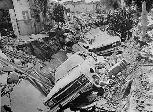 Se producen explosiones en el sector Reforma de la ciudad de Guadalajara, Jalisco.