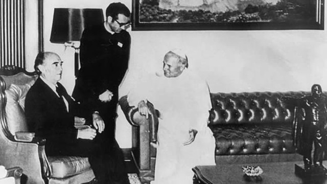 Visita del Papa a México.