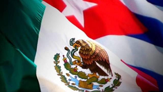Relación México-Cuba.