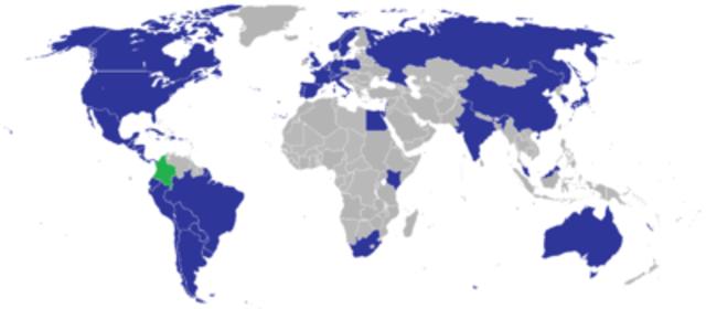 Colombia reconocida
