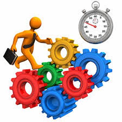 Linea de tiempo de la evolución del Estudio del Trabajo. timeline