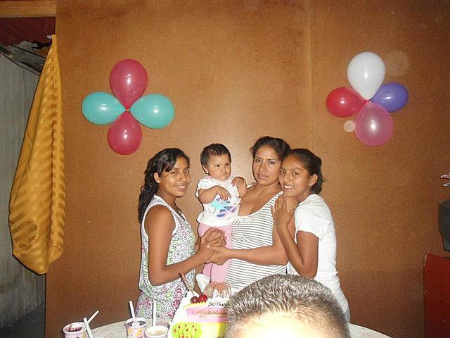 Nacimiento de mi segunda hermana