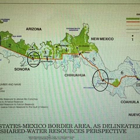 México y Estados Unidos firman un acuerdo para resolver el problema de la salinidad del Río Colorado,