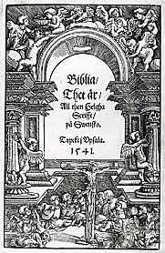 Bibeln översätts till Svenska