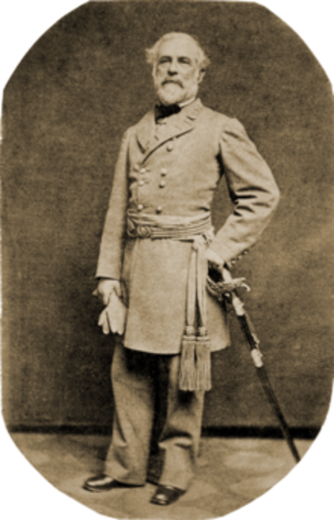 Lee Surrenders at Appomattox Courthouse