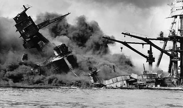 Japan attacked Pearl Harbor