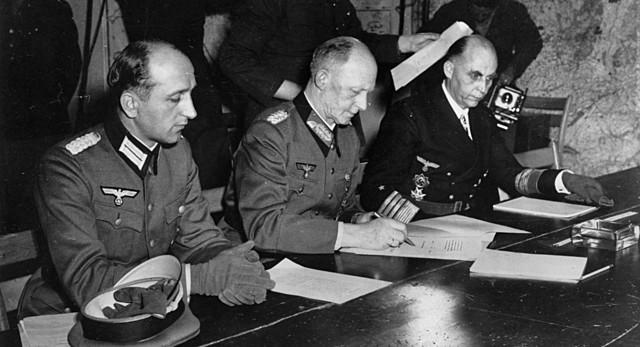 Germany surrendered