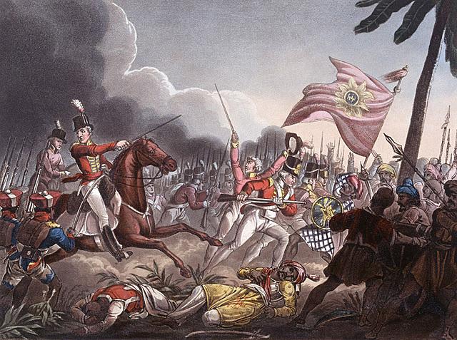 Defeat of the Maratha leader Sindhia
