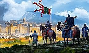 l'exèrcit franc conquereix Barcelona als musulmans
