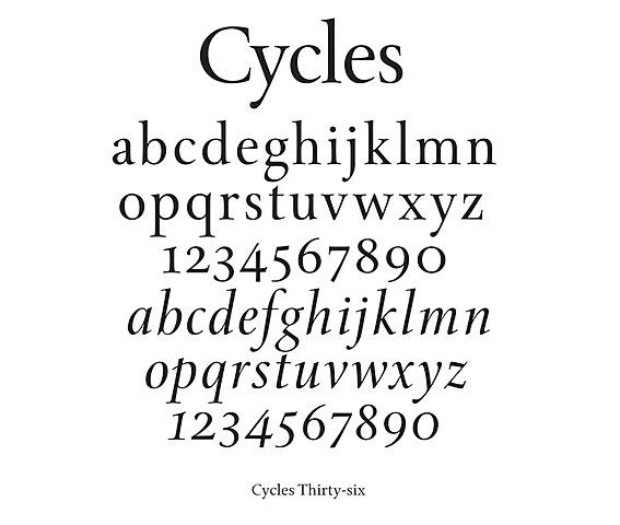 Гуманистическое письмо — современные «латинские буквы».