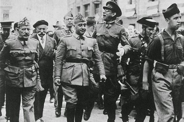Cop d'estat militar de Franco, Sanjurjo i  Mola.