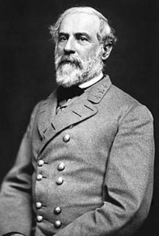 Robert E Lee is the Comander!