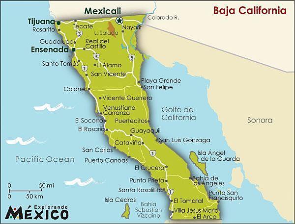 Estado de Baja California.