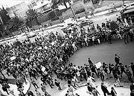 Desfile del casco de Santo Tomás.
