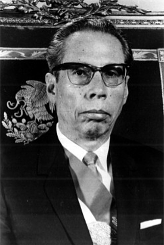 Gustavo Díaz Ordaz.