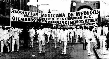 Huelga de médicos.