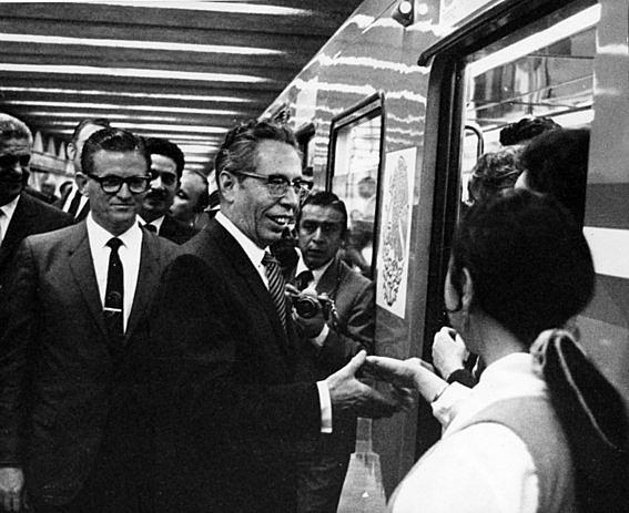 Inauguración del Metro.