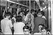 Primera línea del sistema de Transporte Colectivo Metro en la capital.