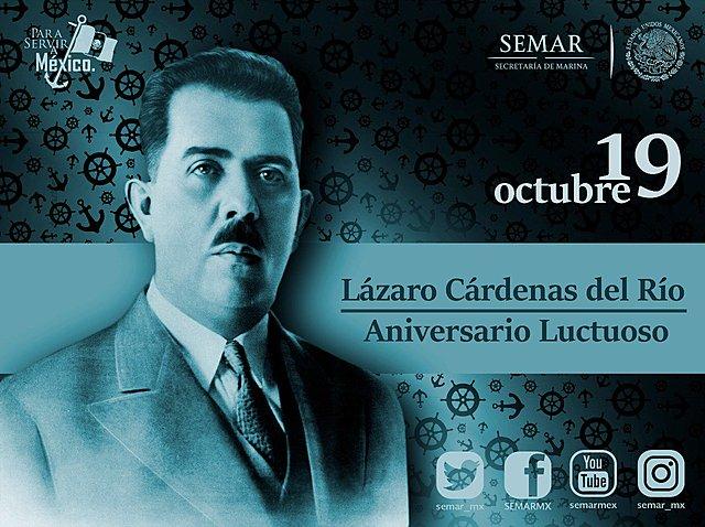 Muere Lázaro Cárdenas del Río