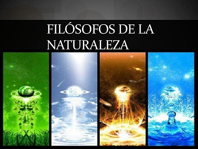 Filósofos de la naturaleza