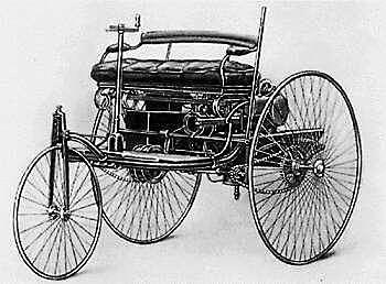 Karl Benz builds first true automobile