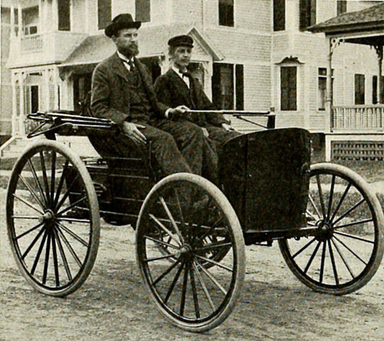 First Successful gas powered car