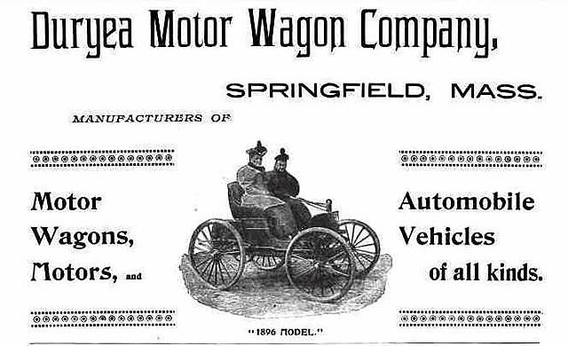 Duryea brothers start first U.S car manufacturer