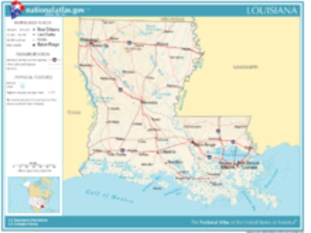 Louisiana seceds