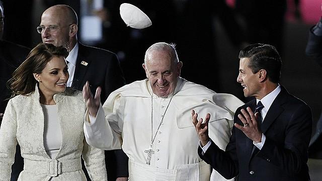Papa Francisco en México.