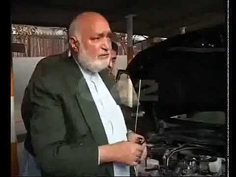 Dr Ghulam Sarwar invents a water powered car