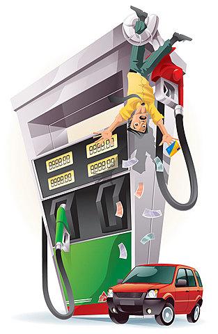 La gasolina, el diésel, el gas y el servicio eléctrico aumentan de precio.