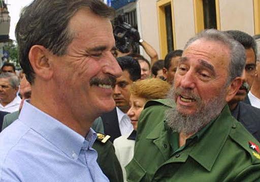 Fox visita a la Habana, Cuba.