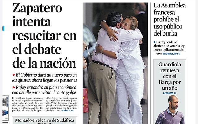 SABATER INTENTA  REVIURE EN EL DEBAT  DE LA NACIÓ