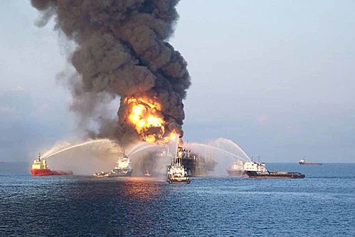 Accidente en la plataforma petrolera Usumacinta.