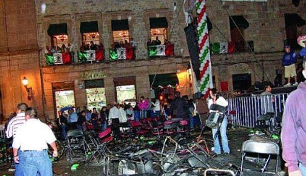 Dos granadas de fragmentación fueron detonadas en el centro de Michoacán, Morelia.