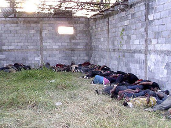 Cadáveres de inmigrantes en Tamaulipas