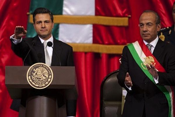 Rinde protesta Enrique Peña Nieto como presidente constitucional de México.
