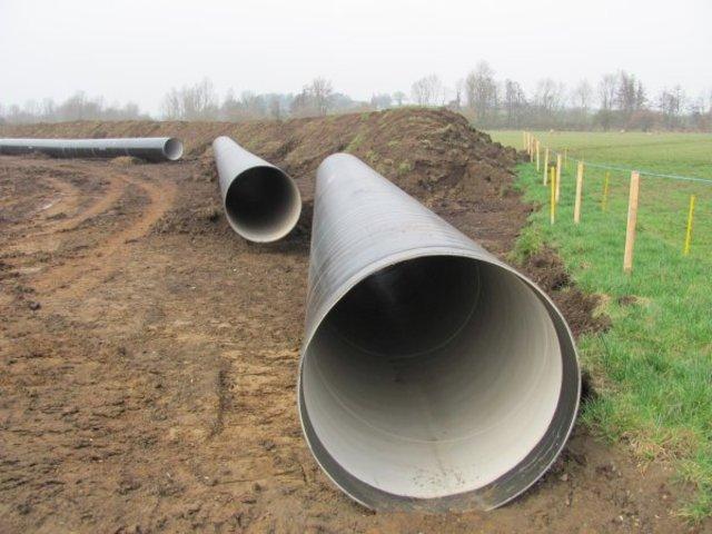 Work on new water pipeline begins